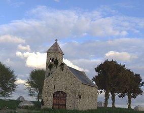3D Old Little Church