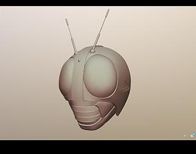 Kamen Rider Black Helmet 3D print model
