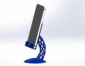 Iphone 8 plus stand wire rope 3D printable model 2