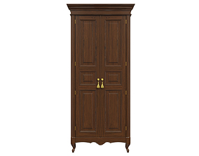 3D classic cabinet 01 03