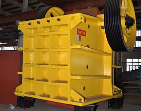 PE750x1060 JAW CRUSHER 3D model