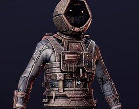 Astronaut 3D printable model humanoid