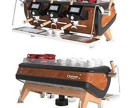 Astoria Storm coffe machine 3D asset