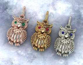 Amulet owl 3D printable model