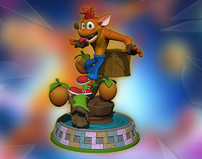 Crash Bandicoot 4 Its About Time based 3D printable model