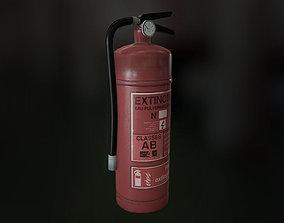 3D model Fire Extinguisher