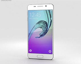 galaxy 3D model Samsung Galaxy A3 2016 White