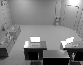 3D asset Mini office