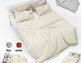 Bed collection 09 3D model