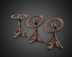 3D asset Torture Wheel - MVL - PBR Game Ready