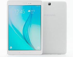 Samsung Galaxy Tab E 9 7 white 3D model