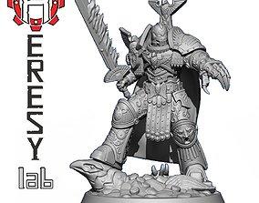 3D printable model Heresylab - Golden Eagle Knight