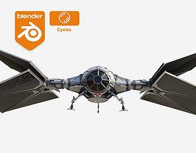 3D model Tie Fighter - The Mandalorian- Outlander version