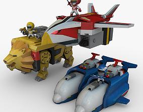 Liveman LiveRobo 3D asset