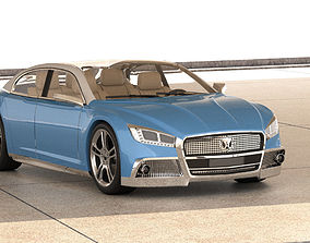 3D model Gaz volga 2020 concept original