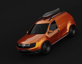 Dacia Duster Van concept 2010-2012 years fabrication 3D