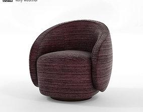 3D asset Kelly Wearstler Swivel Chair