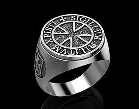 Ring of Knights Templar 3D printable model