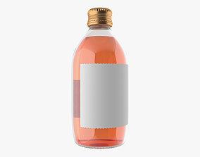 3D model 330 ml mixed drink bottle v1