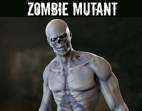 Zombie Mutant 3D asset