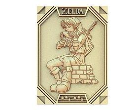 3D printable model Zelda link CNC 3