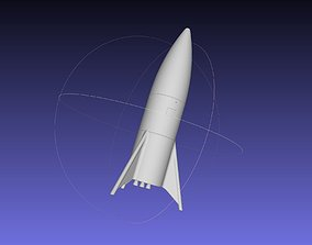 Space-X Starship Hopper Finished Version Printable