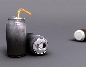 3D model Empty Soda Can