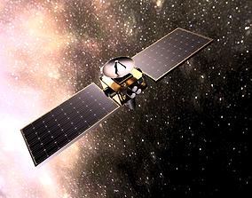 Telescope Satellite 3D model