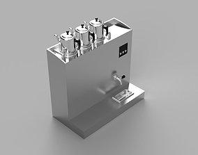 tea cauldron 3D print model