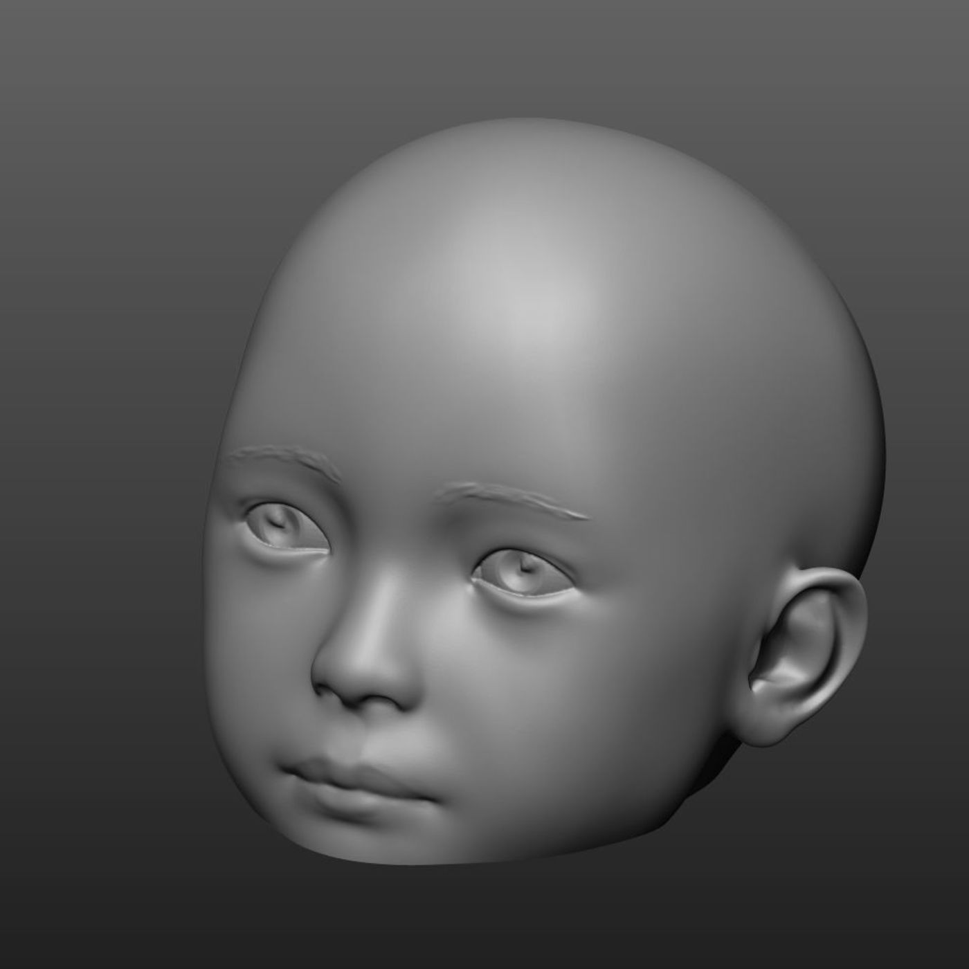 Children mannequin  head