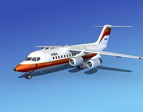 3D model BAe 146-200 PSA