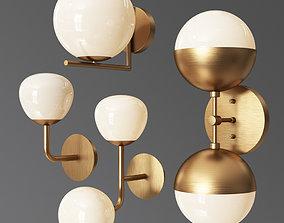 3D model Wall Light Set
