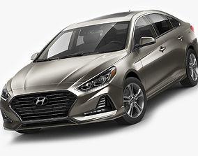 Hyundai Sonata 2018 3D model