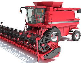 3D model Combine Harvester