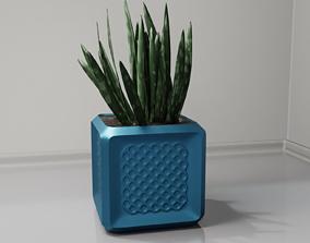 3D print model plant pot holder 96