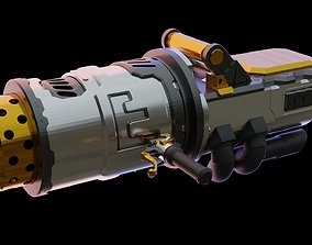3D printable model APEX LEGENDS FUSE ROCKET LAUNCHER