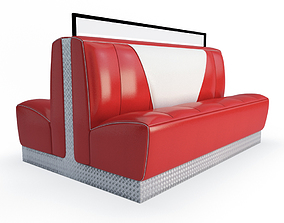 3D model Retro American Bench