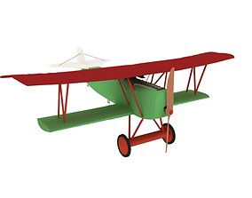 3D model AIRCRAFT FOKERR7