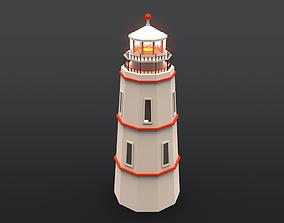 3D asset game-ready Lighthouse