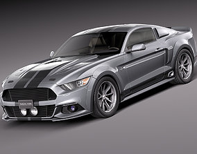 Ford Mustang GT500 2015-2018 tuning 3D
