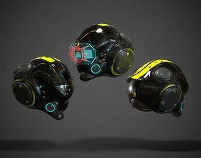 3D model Scifi Helmet