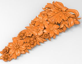relief Carved decor CNC 3D print model