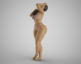 3D printable model Woman Watching the Sky