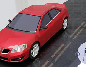 3D asset 2007 Pontiac G6 GT