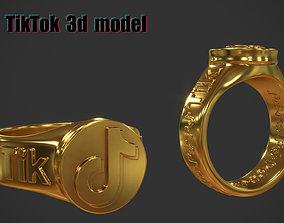 Ring TikTok 3d model