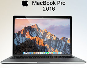 Apple MacBook Pro 2016 3D model macbook