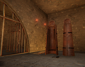 3D model Torture - dungeon and props