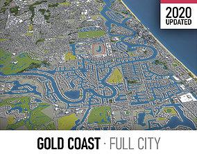 Gold Coast - Tweed Heads - Surfers Paradise 3D asset