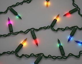 3D model Strings Christmas Lights