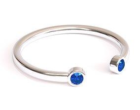 3D print model Dual Diamond Ring